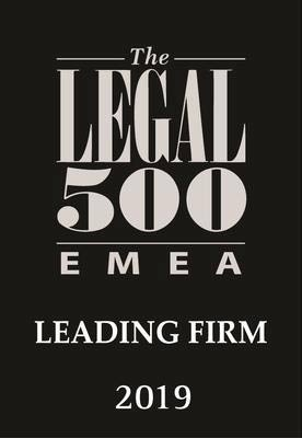 legal 500: leading firm 2019
